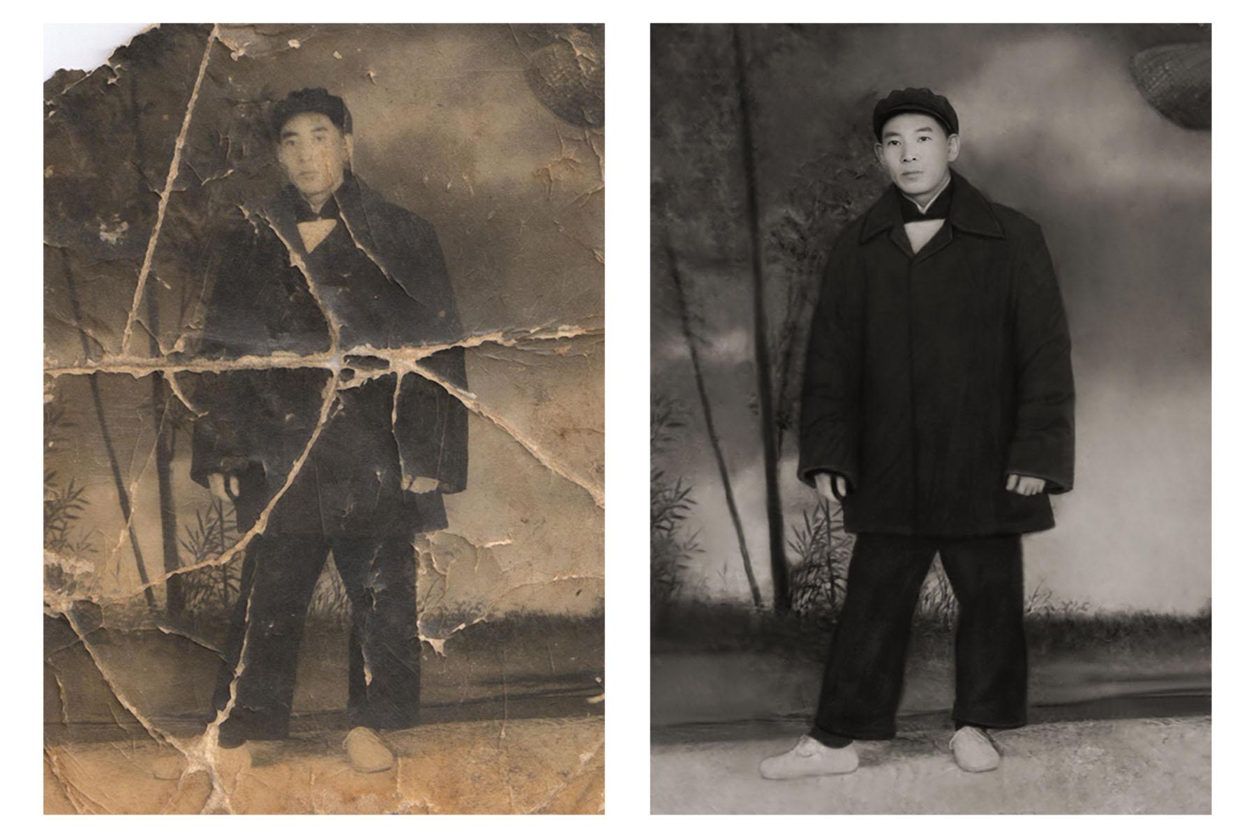 天津老照片翻新