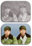 军人老照片修复上色